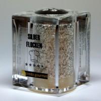Silberstreuer Deluxe, reines essbares Silber