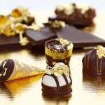 Blattgold für Pralinen