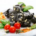 Blattgold für Ravioli Salat