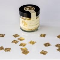 Blattgoldflocken Goldmarie Quader 23 Karat – 10 mm – in verschiedenen Stückzahlen