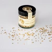 Blattgoldflocken Goldmarie Quader 23 Karat – 3 mm