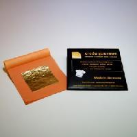 Feines essbares Blattgold 23 Karat – 50 x 50 mm – 10 Blatt