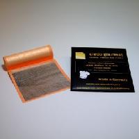 Feines essbares Blattsilber 80 x 80 mm – 50 Blatt