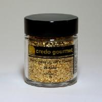Blattgoldflocken – 23 Karat – Größe 2 – 300 mg