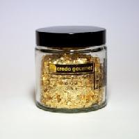 Blattgoldflocken – Grob – 23 Karat – Größe 4 – 300 mg