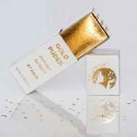 Goldstreuer Goldmarie Herzen Blattgoldflocken – 3,5 mm – 23 Karat –