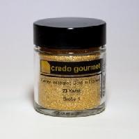 Blattgoldpulver – 23 Karat – Größe 1 – 300 mg