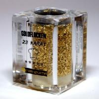 Goldstreuer Deluxe 23 Karat essbares Blattgold – 100mg Goldflocken