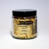 Blattgoldflocken – Grob – 23 Karat – Größe 4 – 1 g