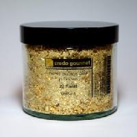 Blattgoldflocken – Grob- 23 Karat – Größe 4 – 2,5  g