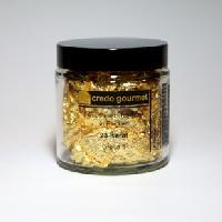 Blattgoldflocken – Schabin – 23 Karat – Größe 5 – 1 g