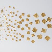 Blattgoldflocken Goldmarie Quader 23 Karat – 390 Stück