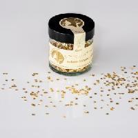 Blattgoldflocken Goldmarie Quader 23 Karat – 1 Gramm